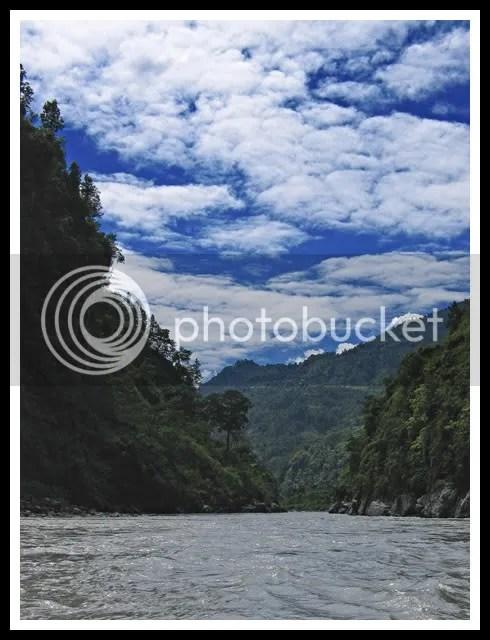 Nepal, Kali Gandaki, Rafting