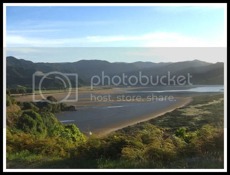 New Zealand - Wainui Coast Trek