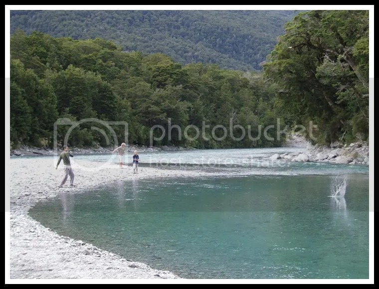 New Zealand - Haast Pass Road - The Blue Pools, Royi Avital