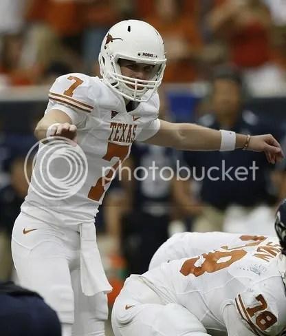 Texas Garrett Gilbert