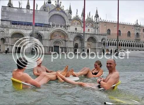 Venice in Winter is like Dewey Beach In Summer