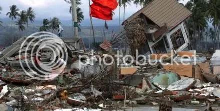 akibat gempa mentawai