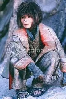 Helena Bonham carter no filme Planeta dos macacos de tim burton