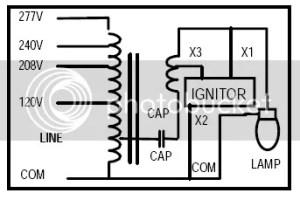 120277 volt ballast  Electrician Talk  Professional