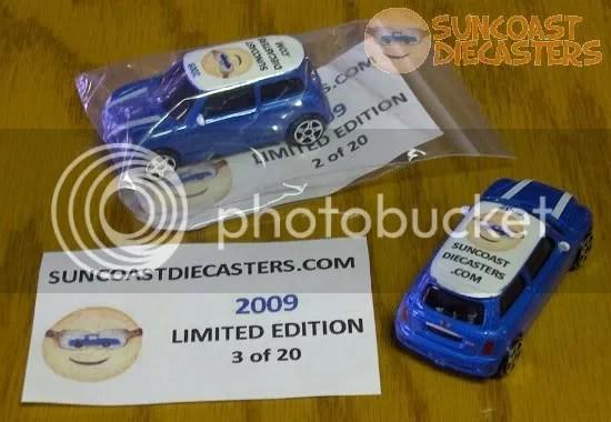 Suncoast Diecasters 2009 Club Vehicle (1st Ed.): Maisto BMW Mini Cooper S