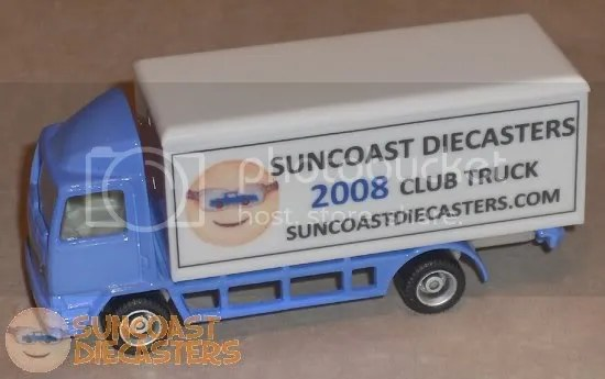 Suncoast Diecasters 2008 Club Vehicle: AdTrucks #C28