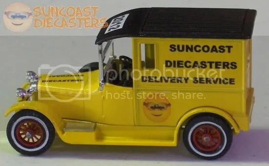 Suncoast Diecasters 2012 Club Vehicle: Matchbox 1927 Talbot Van [Models of Yesteryear]