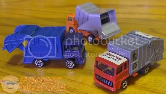Ken + garbage trucks = a Suncoast Diecasters meeting.