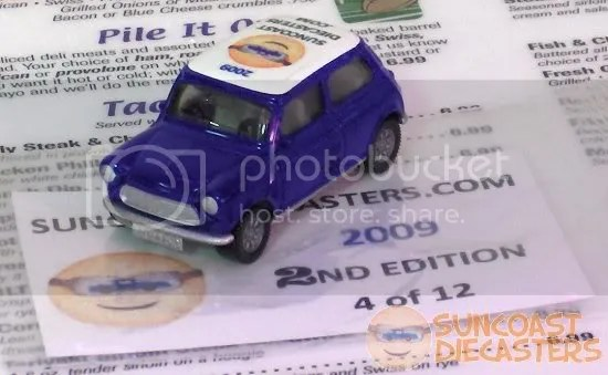 Suncoast Diecasters 2009 Club Vehicle (2nd Ed.): Siku Rover Mini