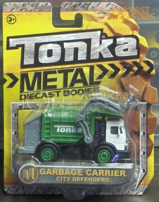 A garbage truck miniature, purchased by a Ken...