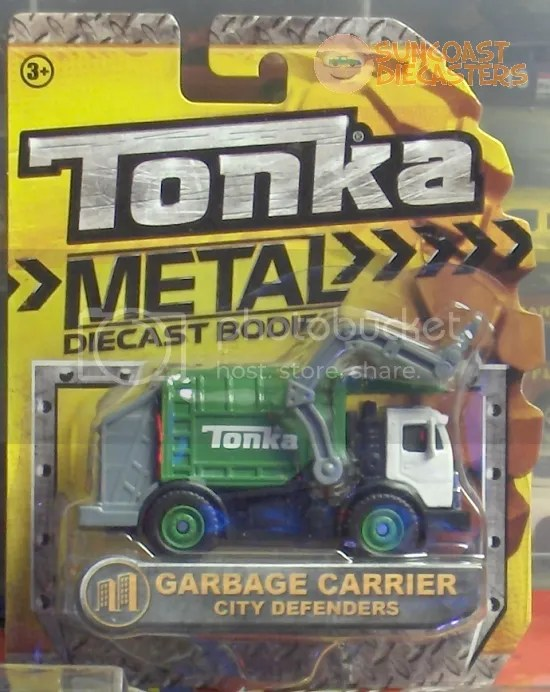 ...And a garbage truck miniature, purchased by a Ken.