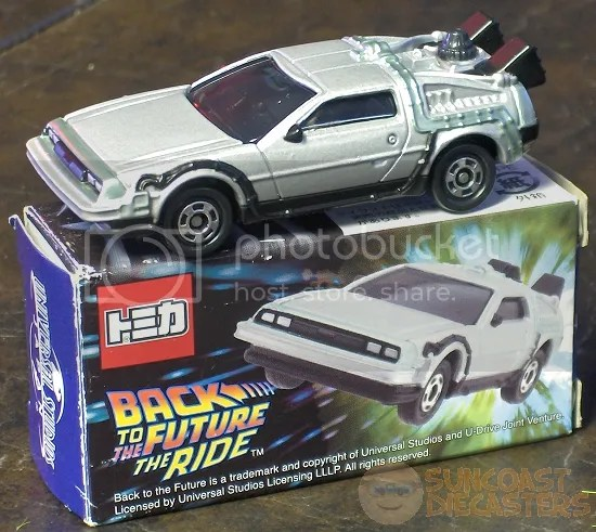 Hey, with versions by Johnny Lightning, Hot Wheels and Tomica, I could film my *own* trilogy!