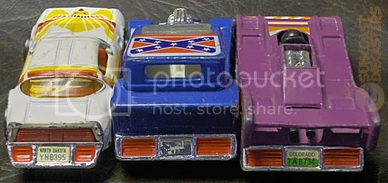 The Neapolitan ice cream of toy cars!
