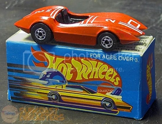 A toy car in a matchbook-sized box? Ridiculous!