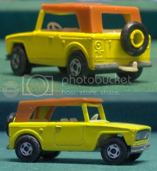 Based on the International Scout.