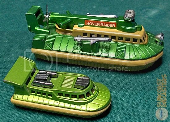 "The smaller hovercraft is 'Superfast'-series # 72 & 2. Yes, ""& 2"" is actually part of its designation."