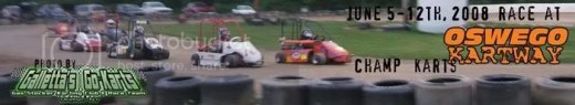 Champ Animal Karts on 6/5-12/2008 at Oswego Kartway