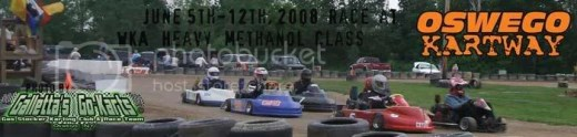 WKA Heavy Karts on 6/5-12/2008 at Oswego Kartway