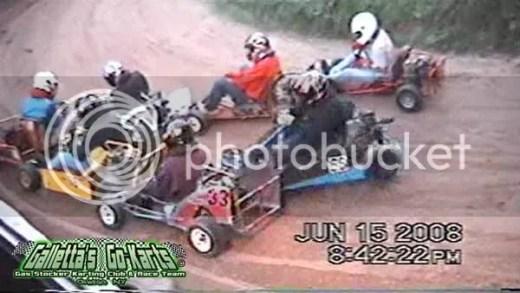 Karting Pileup (Supermodified Yard Karts)
