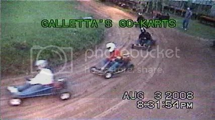 5hp Gas Stocker Kart Heat #1 - Galletta's 8/3/2008