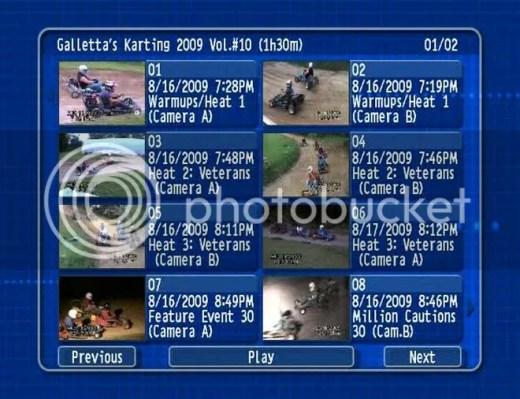 8/16/2009 DVD Menu