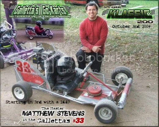 Matt Stevens #33 at Galletta's '09 Klassic