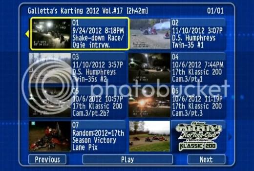 Galletta's Greenhouse Karting 2012 Vol #17