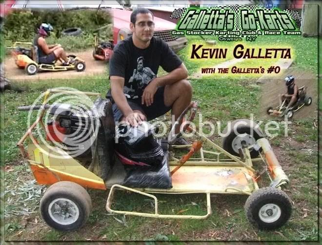 Kevin Galletta - Galletta's #0 kart