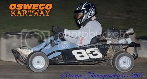 Eric Raponi #83 (using a 6.5hp Briggs Intek OHV).