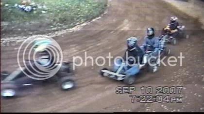 Ryan Coleman wins Galletta's Go-Karts Feature 9/10/2007!