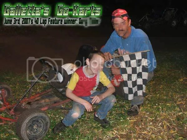 6/3/2007 Winner Gary Miller (with Son Colin)