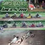 Oswego Dirt Karting 2008 Volume 5 DVD - 6/15/2008