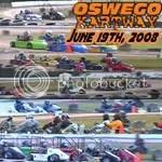 Oswego Dirt Karting 2008 Volume 6 DVD - 6/19/2008