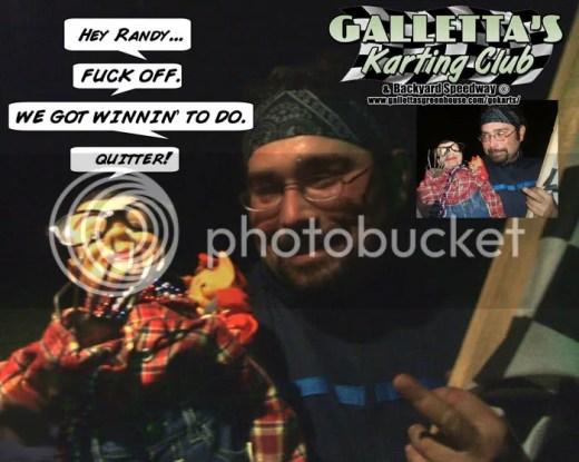 Ogie Stevens & Brian Galletta tell Randy Platt to f-off!