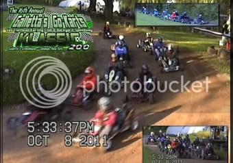 16th Annual Galletta's Greenhouse Karting Klassic 200 Start