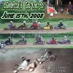 Oswego Dirt Karting 2008 Volume 5 DVD - 6/15/2008