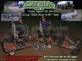 Jeff Tetro and Matt Stevens win the Friday 8/5/2011 Twin 30s