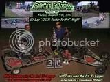 Jeff Tetro and Matt Stevens win the Friday 8/5/2011 Twin 30s