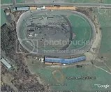 Oswego Speedway via Google Earth