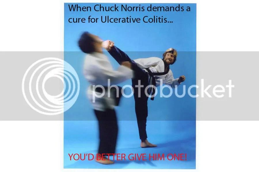 Chuck DEMANDS a cure!