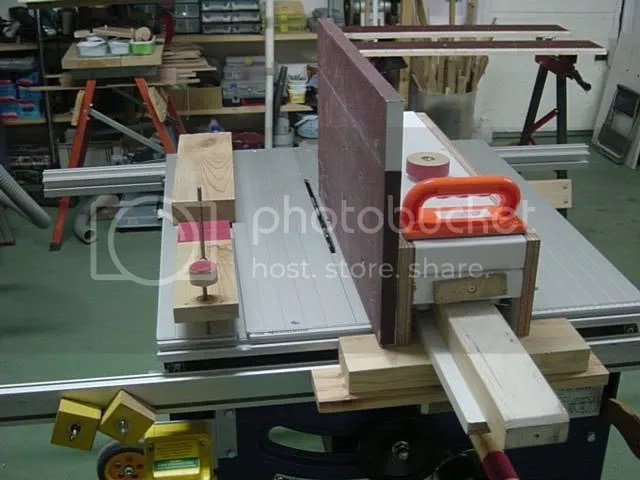 Grizzly Tenoning Jig Manual