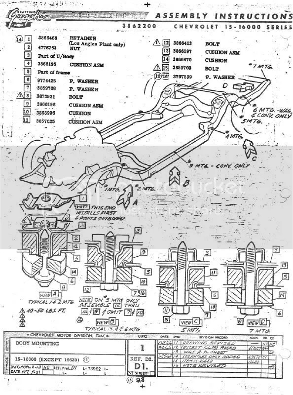 REPS if you can find me a diagram of the body mount