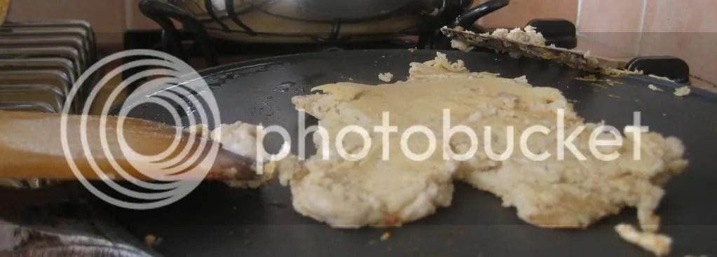 first pancake