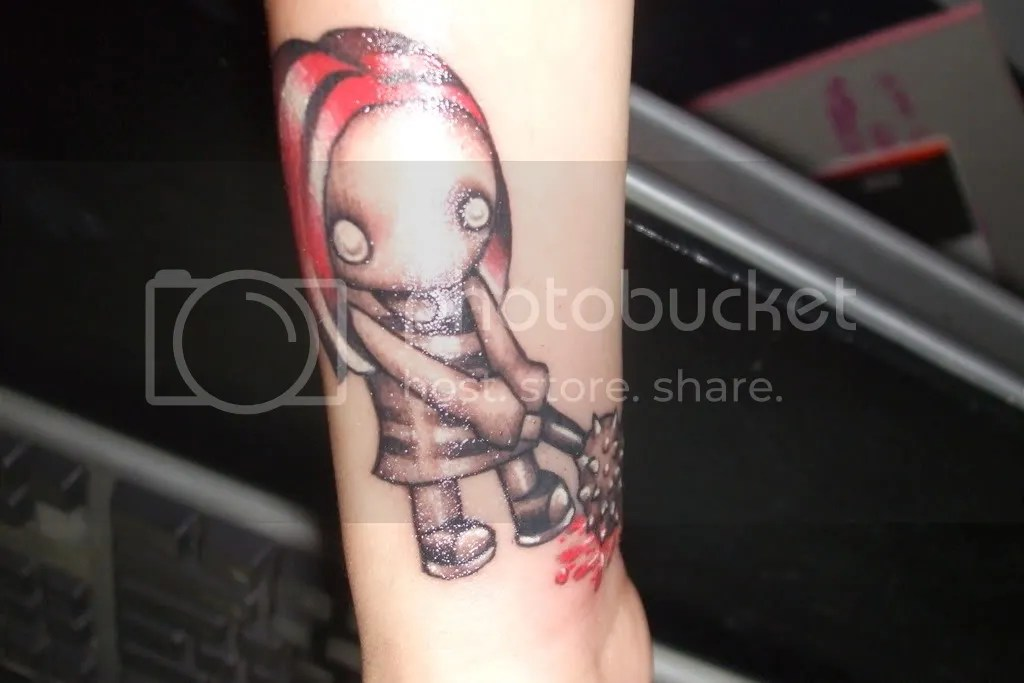 dead doll tattoo picture by .