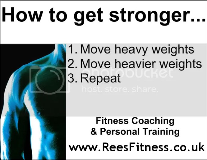 How to get stronger...