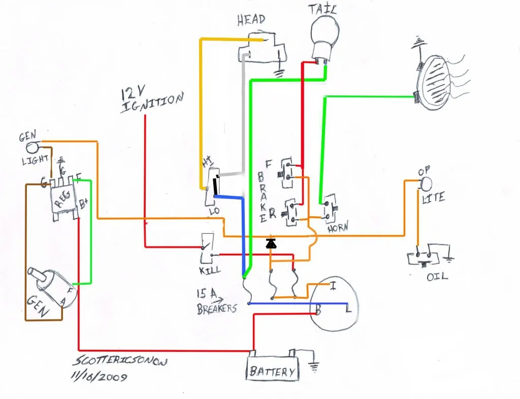 Dorable 2009 Sportster Wiring Diagram Motif - Electrical Diagram ...