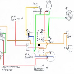Sportster Wiring Diagram Photocell Light Sensor 1975 Ironhead