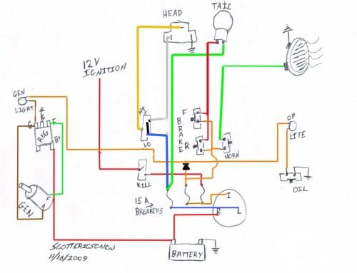 small resolution of basic wiring diagram ironhead wiring diagrams harley davidson wiring harness diagram 1975 harley wiring diagram