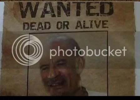 Gadhafi Bald 2