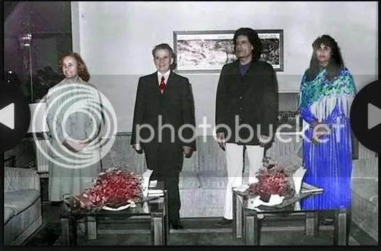 Gadhafi and Safia invided to Czech Republic